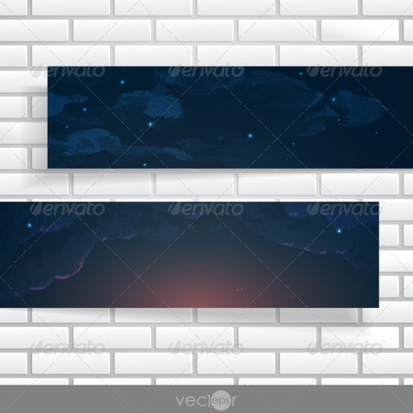 GraphicRiver Abstract Banners With Place For Your Text 8664307