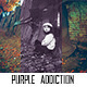 Purple Addiction - GraphicRiver Item for Sale