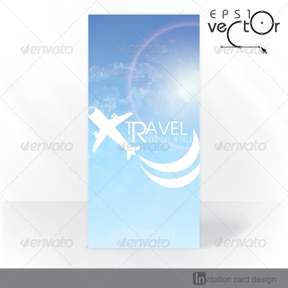 GraphicRiver Party Invitation Card Design Template 8664315