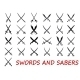 Crossed Swords and Sabers - GraphicRiver Item for Sale