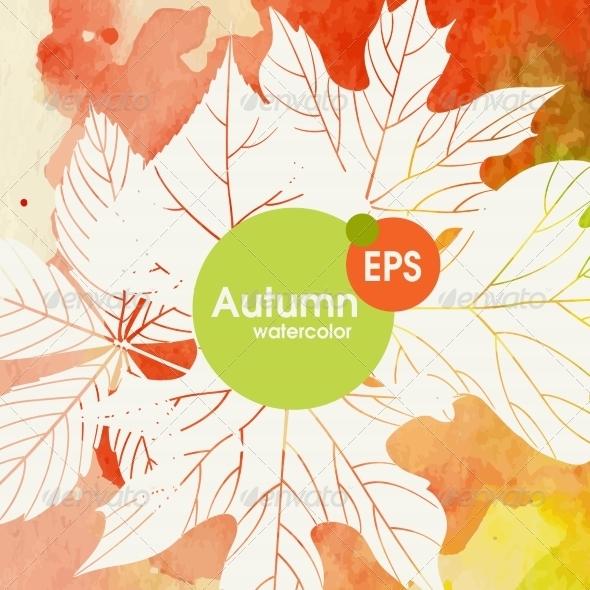 GraphicRiver Creative Autumn Background 8664331