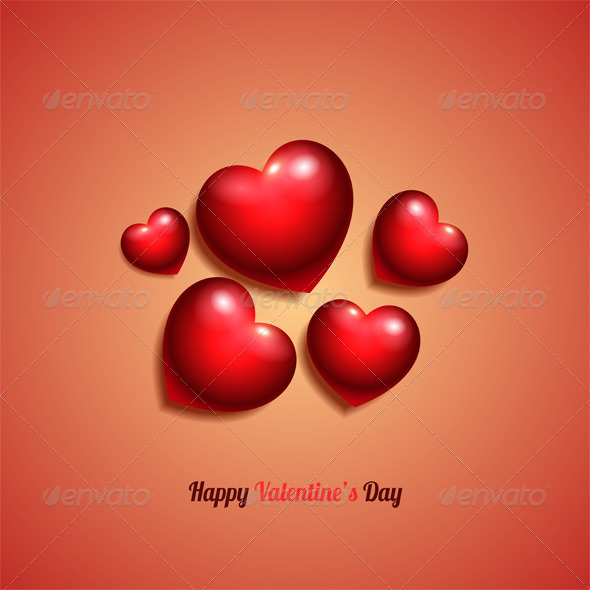 GraphicRiver Valentine s Background 8664576