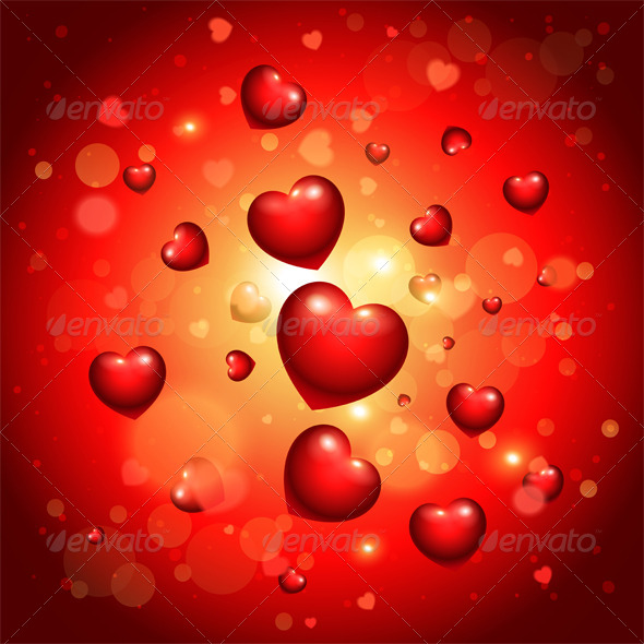 GraphicRiver Valentine s Background 8664588