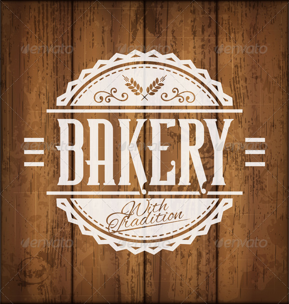GraphicRiver Bakery Label 8664594