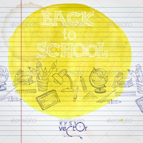 GraphicRiver School Background 8664604