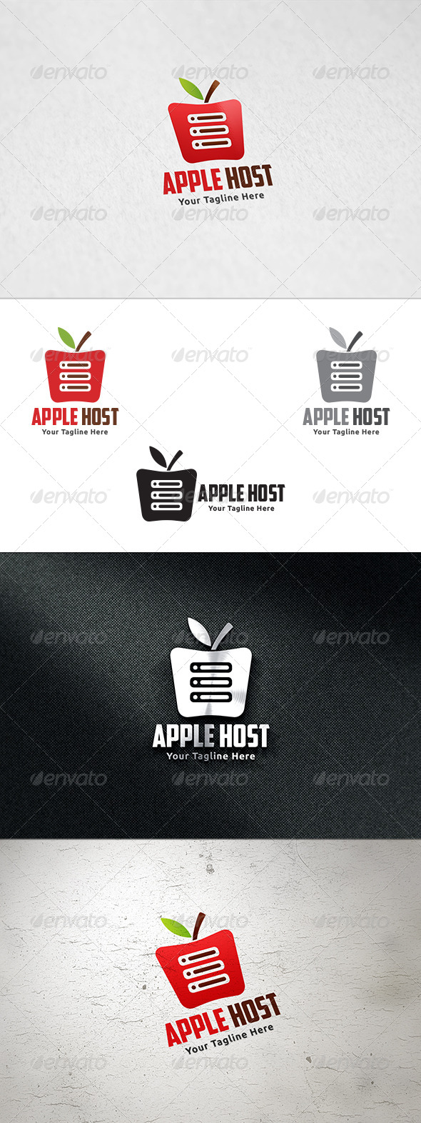 GraphicRiver Apple Host Logo Template 8664697