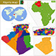 Algeria Map - GraphicRiver Item for Sale