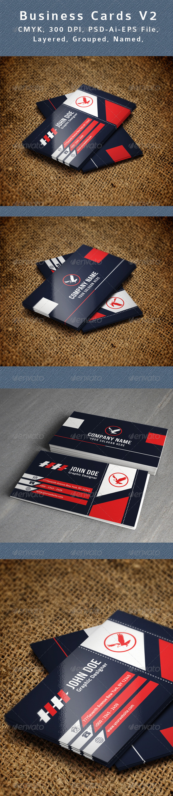 GraphicRiver Creative Business Card V3 8664728