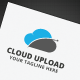 Cloud Upload Logo - GraphicRiver Item for Sale
