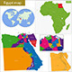 Egypt Map - GraphicRiver Item for Sale