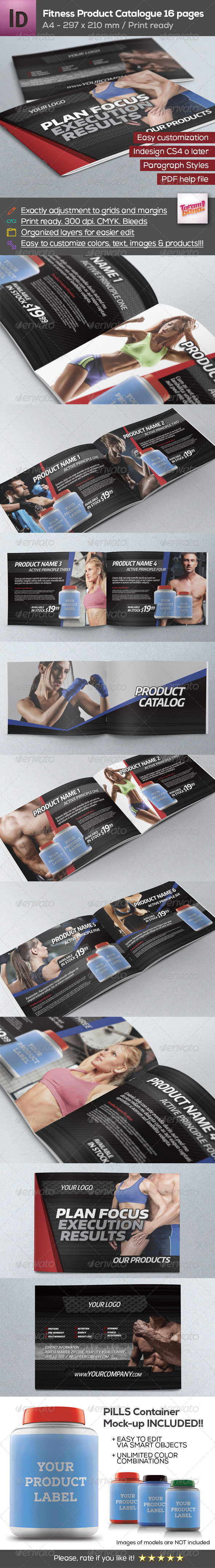 GraphicRiver Fitness Product Catalogue A4 8672850