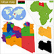 Libya Map - GraphicRiver Item for Sale