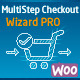 WooCommerce MultiStep Checkout Wizard PRO