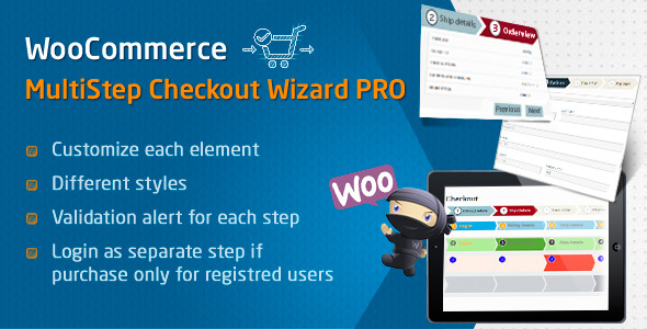 CodeCanyon WooCommerce MultiStep Checkout Wizard PRO 8674984