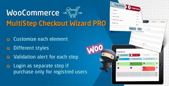 CodeCanyon WooCommerce MultiStep Checkout Wizard PRO 8674984