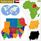 Sudan Map - GraphicRiver Item for Sale