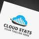 Cloud Stats Logo - GraphicRiver Item for Sale