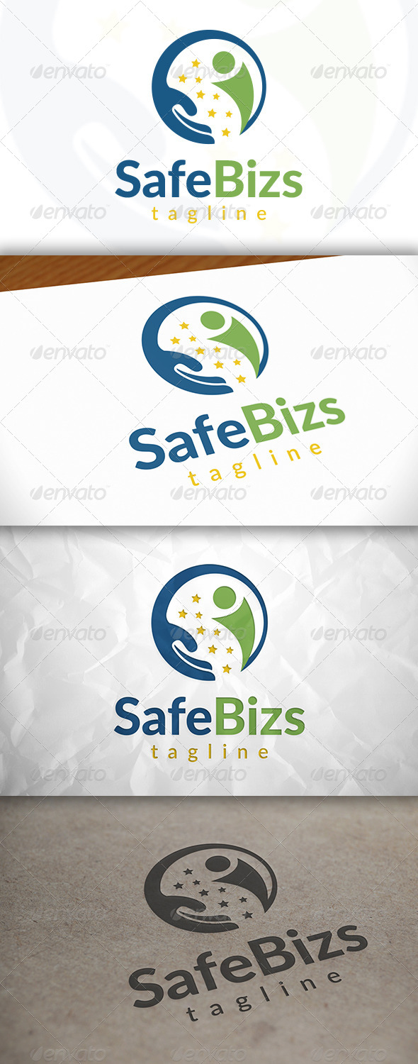 GraphicRiver Safe Success Logo 8675759