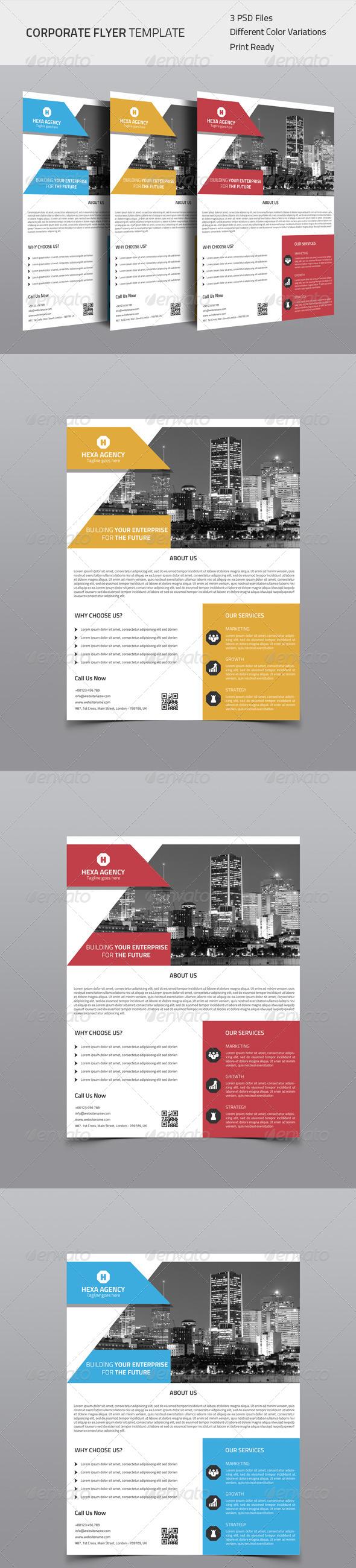 GraphicRiver Corporate Flyer 04 8675760