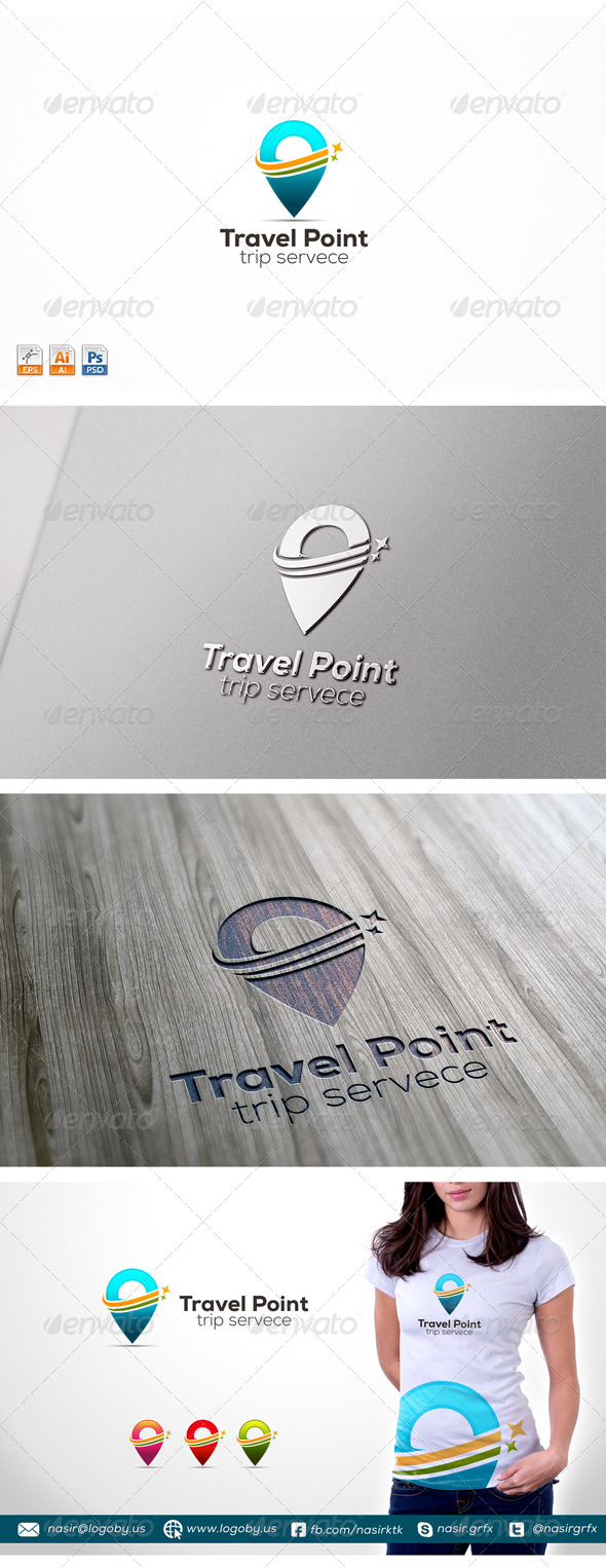 GraphicRiver Travel Point 8675766