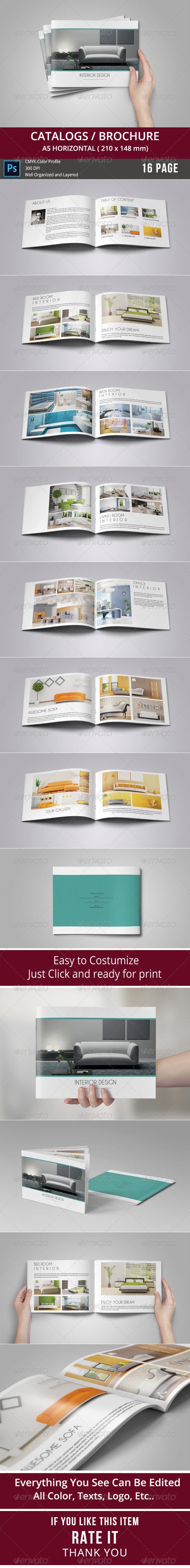 GraphicRiver Catalogs Brochure 8659873