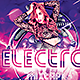 Electro CD Mixtape Cover - GraphicRiver Item for Sale