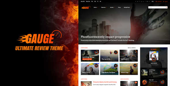 ThemeForest Gauge Ultimate Review Theme 8676079