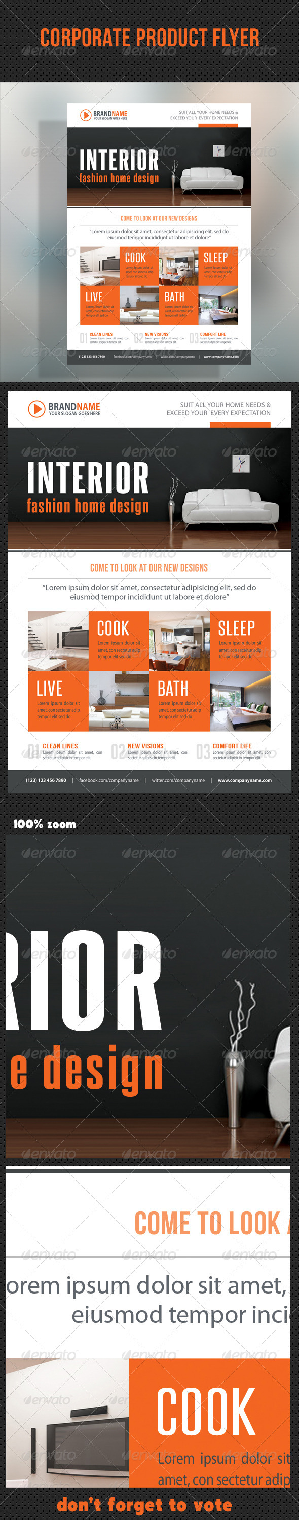GraphicRiver Corporate Product Flyer 93 8676101