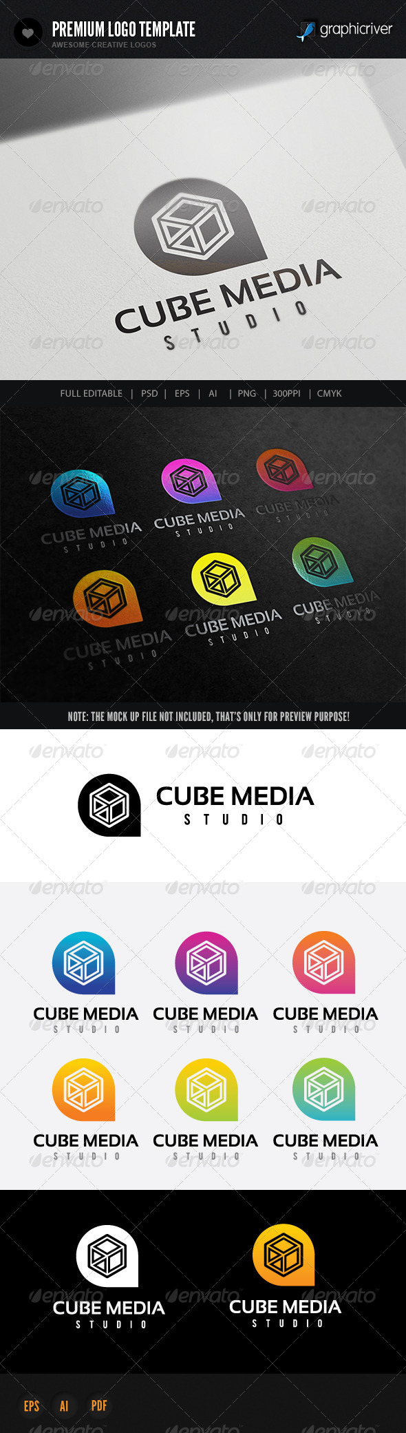 GraphicRiver Cube Media Studio 8676223