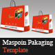 Maspoin Packaging Template - GraphicRiver Item for Sale