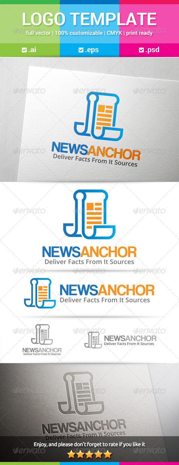 GraphicRiver News Anchor Logo 8676240