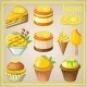 Set of Sweets with Lemon - GraphicRiver Item for Sale