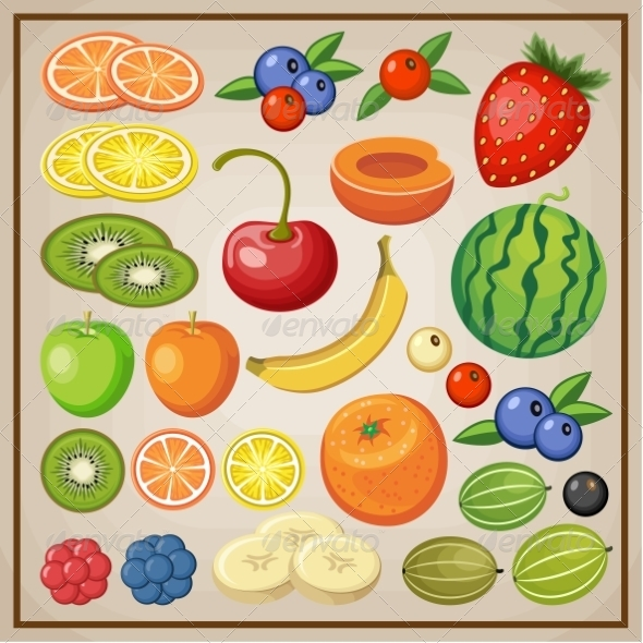 GraphicRiver Fruits 8676325