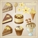 Set of Vanilla Sweets  - GraphicRiver Item for Sale