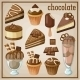 Set of Sweets and Chocolate - GraphicRiver Item for Sale