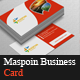 Maspoin Business Card - GraphicRiver Item for Sale