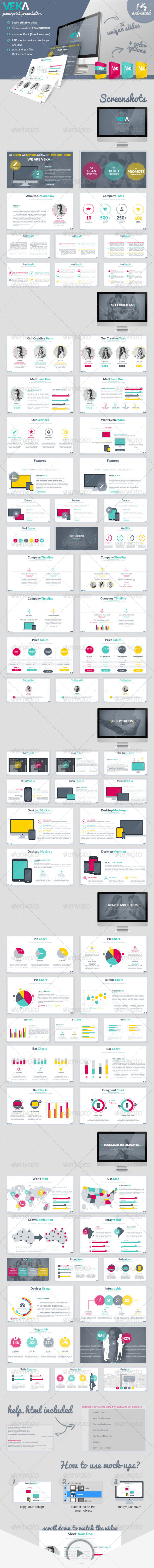 GraphicRiver Veka Powerpoint Presentation 8676420