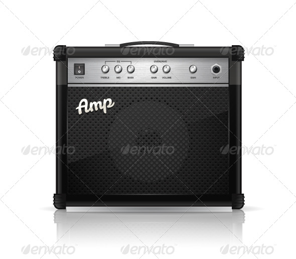 GraphicRiver Guitar Amp 8676477
