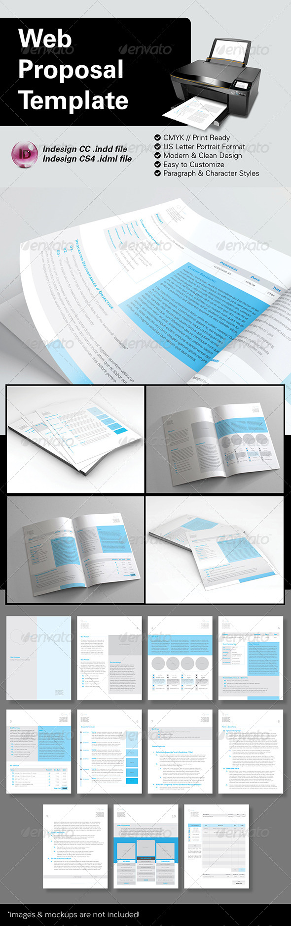 GraphicRiver Web Proposal Template US Letter 8676478