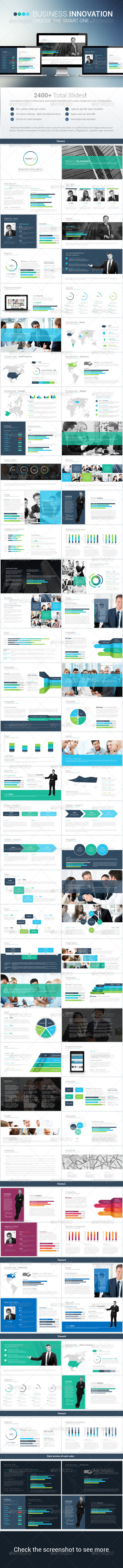 GraphicRiver Business Innovation Powerpoint Template 8676497
