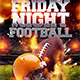 Friday Night Football Flyer Template