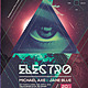 Hipster Electro Party Poster - GraphicRiver Item for Sale