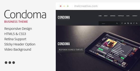 Condoma - Creative Business/Personal Theme