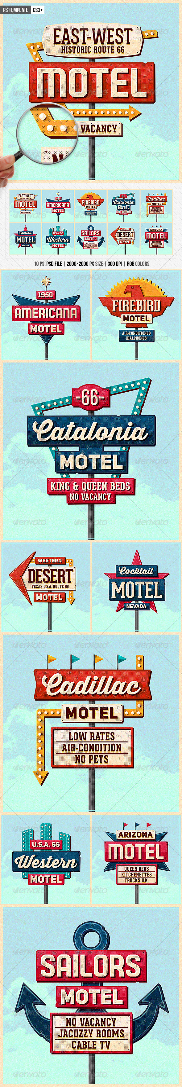 Vintage Sign Template » Tinkytyler.org - Stock Photos ...