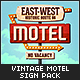 Vintage Motel Sign Pack - GraphicRiver Item for Sale