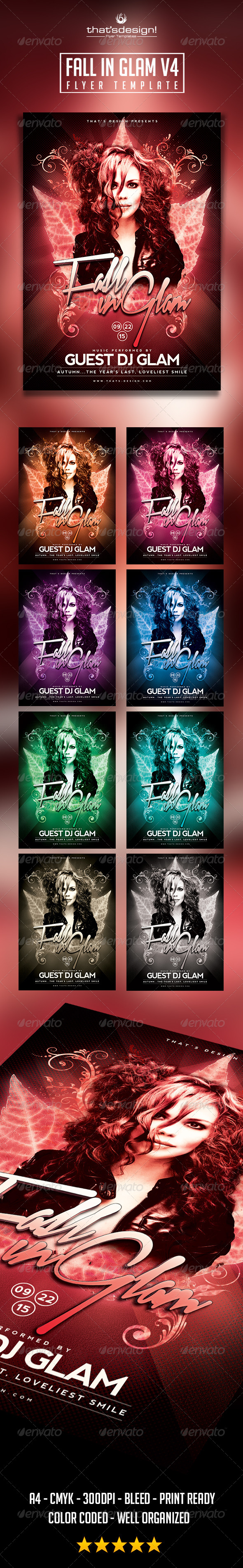 GraphicRiver Fall in Glam Flyer Template V4 8676743