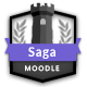 Saga - Responsive Moodle Theme - ThemeForest Item for Sale