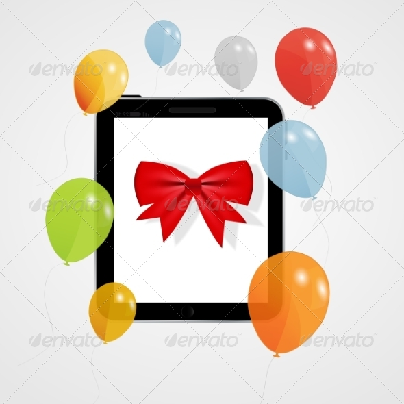 GraphicRiver Digital Tablet Gift 8676852