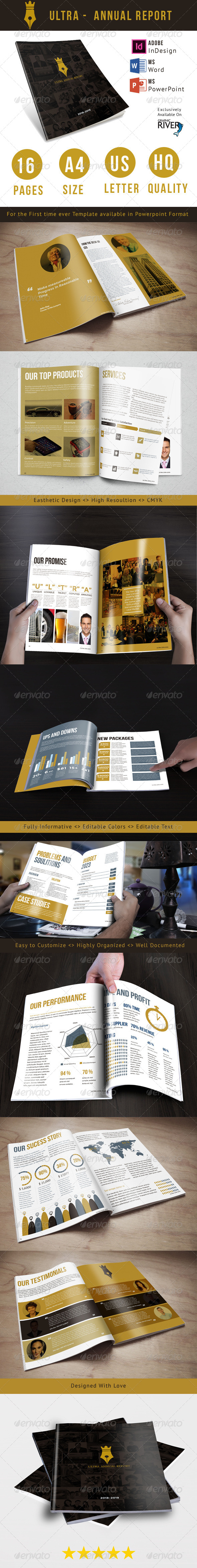 GraphicRiver Ultra Annual Report Template 8676890
