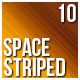 10 Space Striped Backgrounds - GraphicRiver Item for Sale